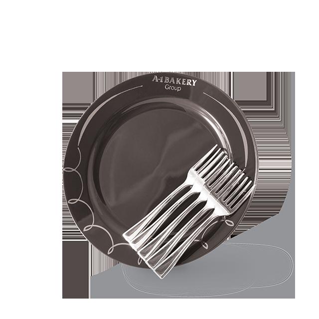 Plate & Fork (5pcs)