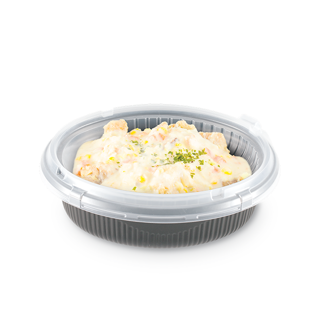Stewed Cream Chicken With Rice