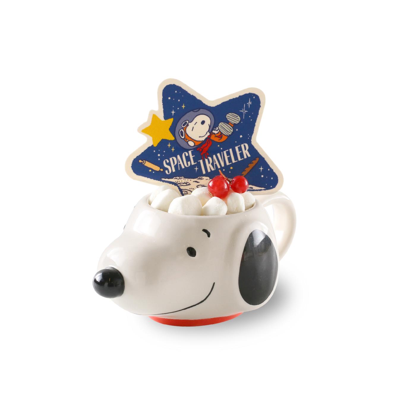 Snoopy Space Traveler -Strawberry Jam Cream Cake